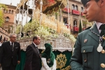 Semana Santa Procession, Guardia Civil and Paso, Seville, Spain 2011