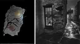 L: Malcolm Easton, R: Linda Fitch